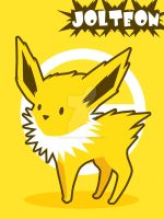 Jolteon by SteveHoltisCool
