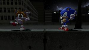 Sonic Taunts -Sonic OVA in Gmod- by NightB1ader