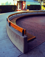 Curved Bench by Humble-Novice