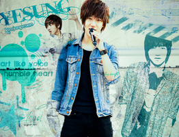 Yesung wallpaper by tearystar08