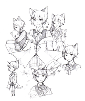 Mio Sketchpage by AmberTheSatyr