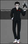 Commission - Nightmare by NikkiWardArt