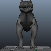 Trex model front by Raylouwolf