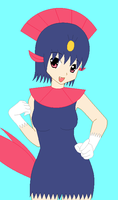 BASE-Sneeze The Weavile by ThunderWolfang