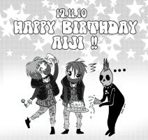 HAPPY BIRTHDAY AIJI part 1 by jumonjie