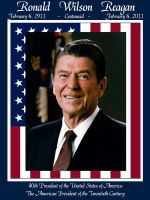 Ronald W. Reagan Centannial by dragonpyper
