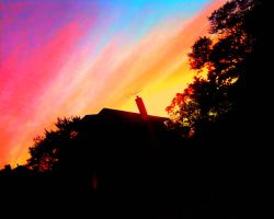 Rainbow Sunset by TrishNara