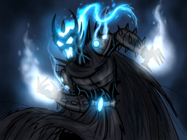 A very dark lord by Finjix