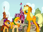 Apple Jack,Autumn Star and Summer Gold Apple by MaddieHatter3337