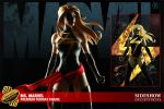 Ms Marvel Sideshow Ad by DRAWBAK