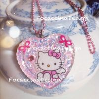 Hello Kitty resin piece by FocaccinaDesign by MGFM