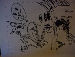 2006 drawings 2 by Azjo