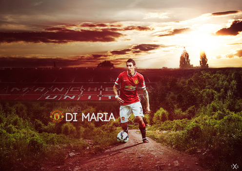 Angel Di Maria by TxsDesign