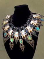 The Isa Egyptian Collar Necklace by tothology