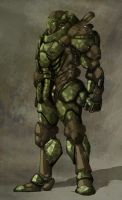 ACS armoured combat suit by Valhein