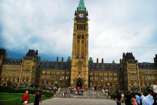 Parliament Of Canada by JJrulez12
