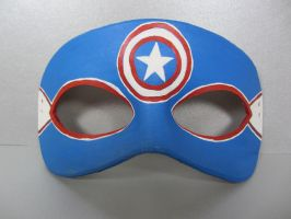 Avengers mask - Captain America by maskedzone