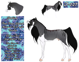 MT Horse I-027 for ToxicCreed by 11IceDragon11