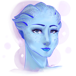 Liara T'Soni by AshfurtheGinger