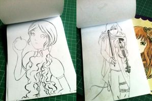 Preview Inside Coloring Book vol 1 by madna29