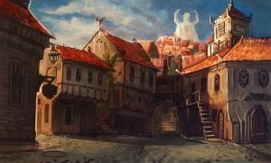 Old Quarters by Larbesta