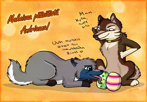 HAPPY EASTER ANDRIAANA! by Norwlin