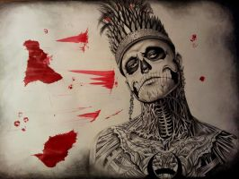 King Zombie Boy by AnnaritaAirbrusher