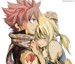 Natsu and Lucy (Rendered) by KelvinCheng