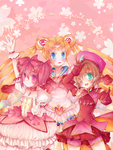 Magical Girls, Then and Now by Lolisoup