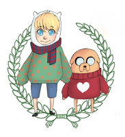 we heart winter sweaters by Magicpills