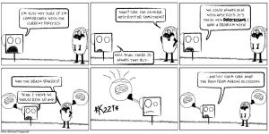 """Mr. square issue """"242"""" by RevFitz"""