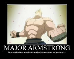 Major Armstrong Demotivational by georgiap247