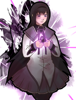 Homura collab by Marraphy