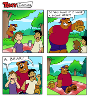 Picnic Panic by TonyBearComic