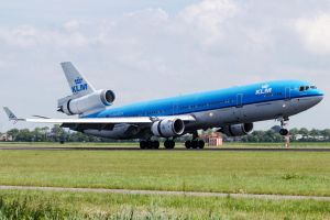 KLM's retired McDonnell Douglas MD-11 by SliverFoxNL