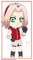 Sakura-chan for Raven-san by The-PirateQueen