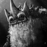 Bearded Swamp Creature by rpowell77