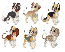 Dog Sheet -2- FREE by Sanguine-Adoptables