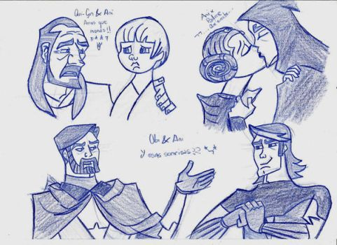 Clone Wars- Couples :3 by Eriath