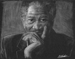 Morgan Freeman by louis945