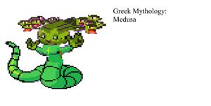 Greek Mythology Sprite:Medusa