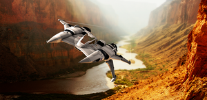 Canyon Runner by pjacubinas