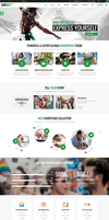 Subway WordPress Theme by webdesigngeek