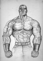 Colossus_sketch by saadirfan