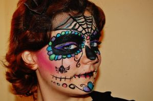 Sugar Skull Take 2 Detail by nazzara