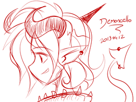 20130412 - Demoncello by nekoiichi