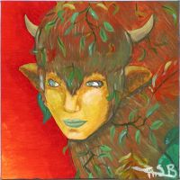 Painting - Taurus by Super-kip