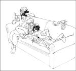 Couch potato family - Naruto by neofox