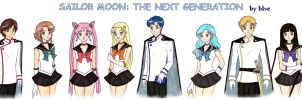 The New Senshi by b-l-v-e