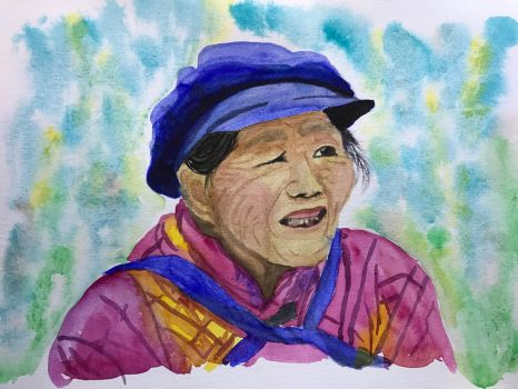 Yunnan Woman by kiwinessie